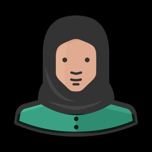 muslim woman logo