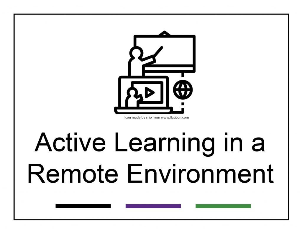 Icon of remote teaching